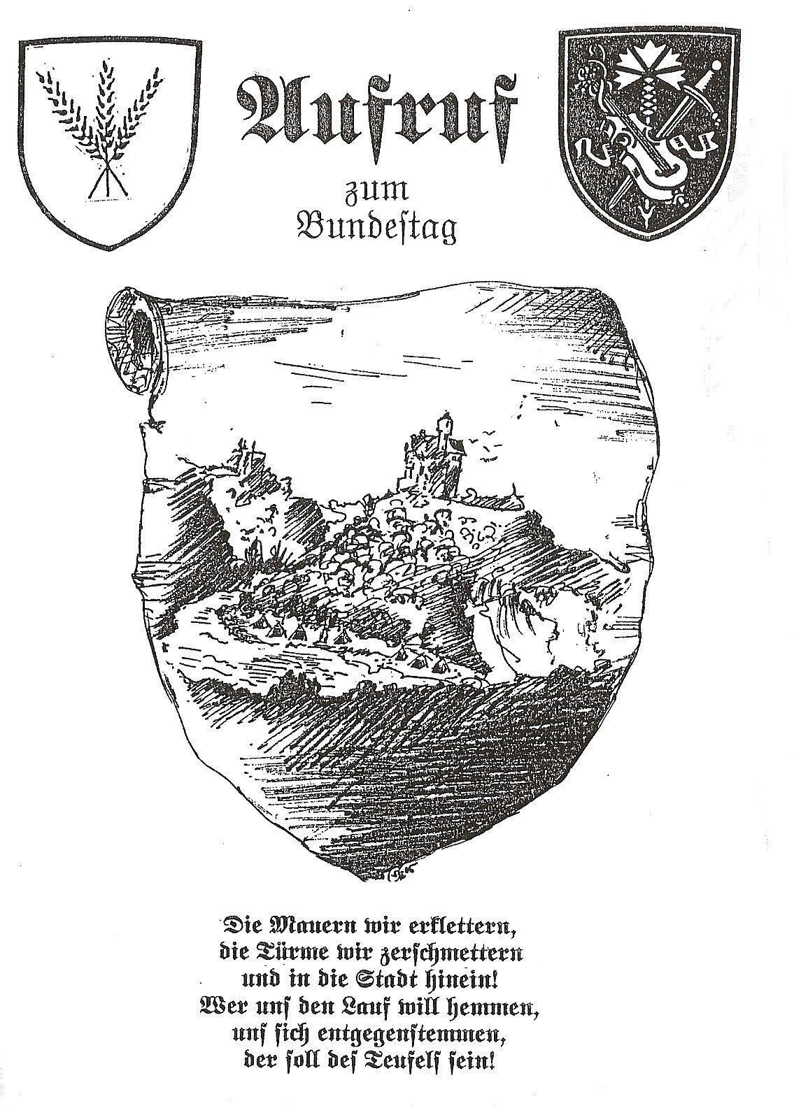 Einladung Bundestag