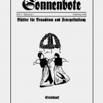 """Titelbild: """"Sonnenbote"""" (Heft 4 - Scheiding 2008)"""